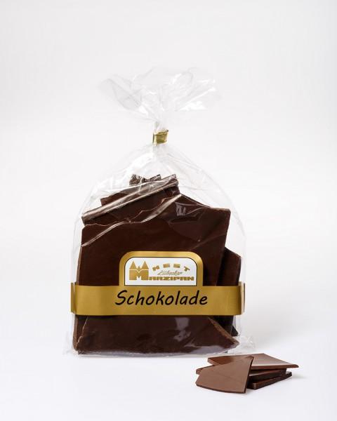 Bruchschokolade Dark Supreme Zartbitterschokolade mit 85% Kakaobestandteilen