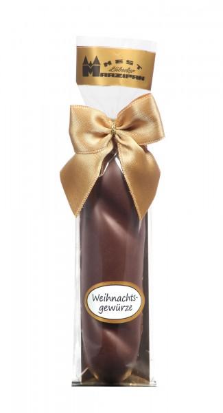 "Marzipan-Brot in Zartbitterschokolade ""weihnachtl. Gewürze"""