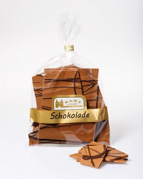 Bruchschokolade Karamell