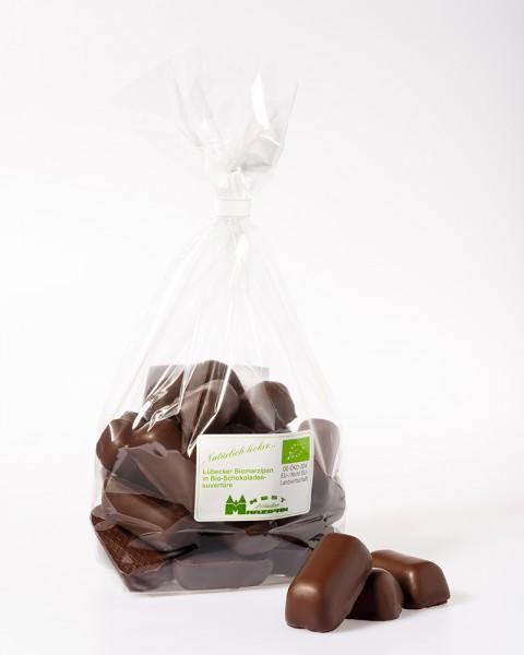 Bio-Marzipanbruch in in BIO-Zartbitterschokolade