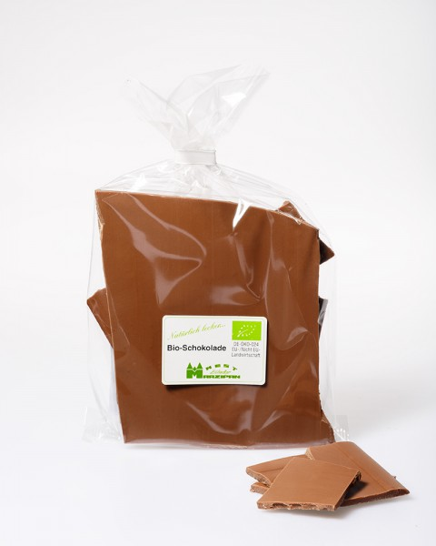 BIO-Vollmilchschokolade mit BIO-Nussnougat dunkel