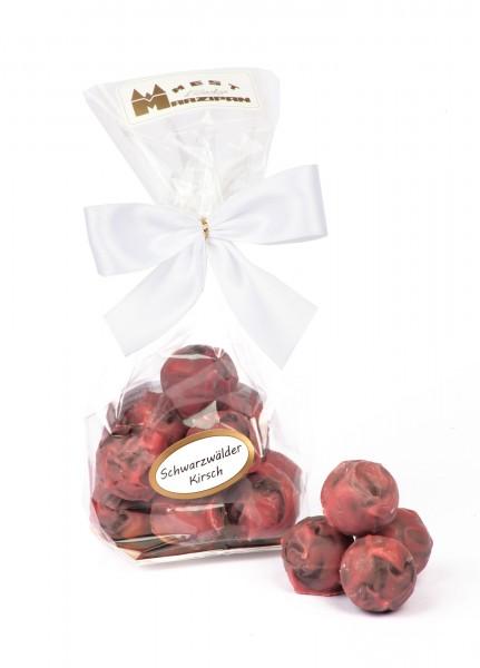 Schwarzwälder Kirsch Trüffel in Ruby Schokolade