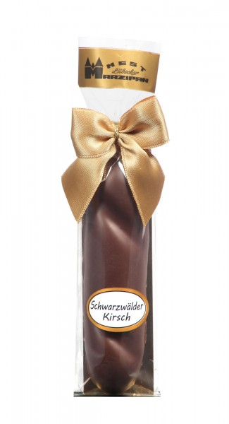 "Marzipan-Brot in Zartbitterschokolade ""Schwarzwälder Kirsch"""