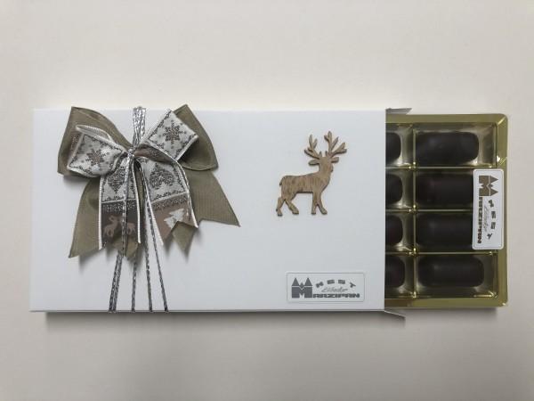 Weihnachtliche Happenschachtel gold