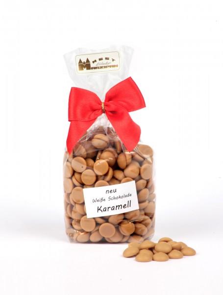 Schokoladenchips Karamell gold