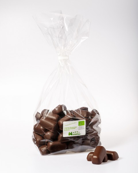 BIO-Marzipanbruch in Bio-Zartbitterschokolade -DE-ÖKO-005