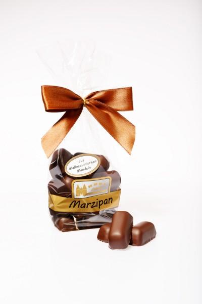 Marzipan-Happen in Zartbitterschokolade aus mallorquinischen Mandeln