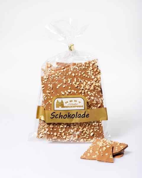 Bruchschokolade Vollmilch mit Haselnusskrokant