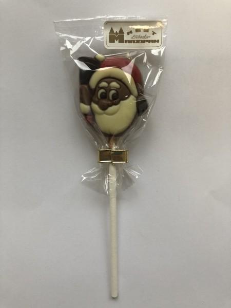 """Schokoladen-Lolly """"Weihnachtsmann mit Glocke"""""""