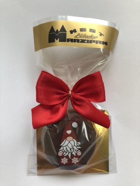 "Marzipan-Torte in Zartbitterschokolade ""Wichtel"""