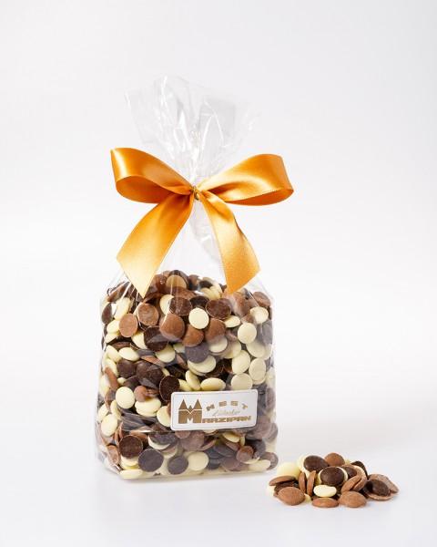 Schokoladenchips gemischt