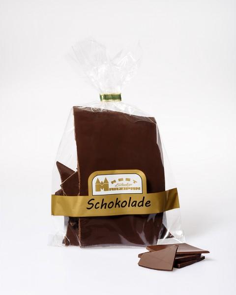 Bruchschokolade Edelzartbitter 70% Kakaobestandteile