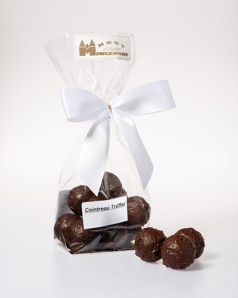 Cointreau Trüffel in Zartbitterschokolade